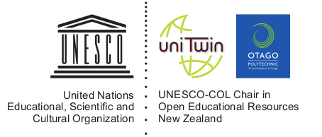 UNESCO-COL Chair in OER, Otago Polytechnic